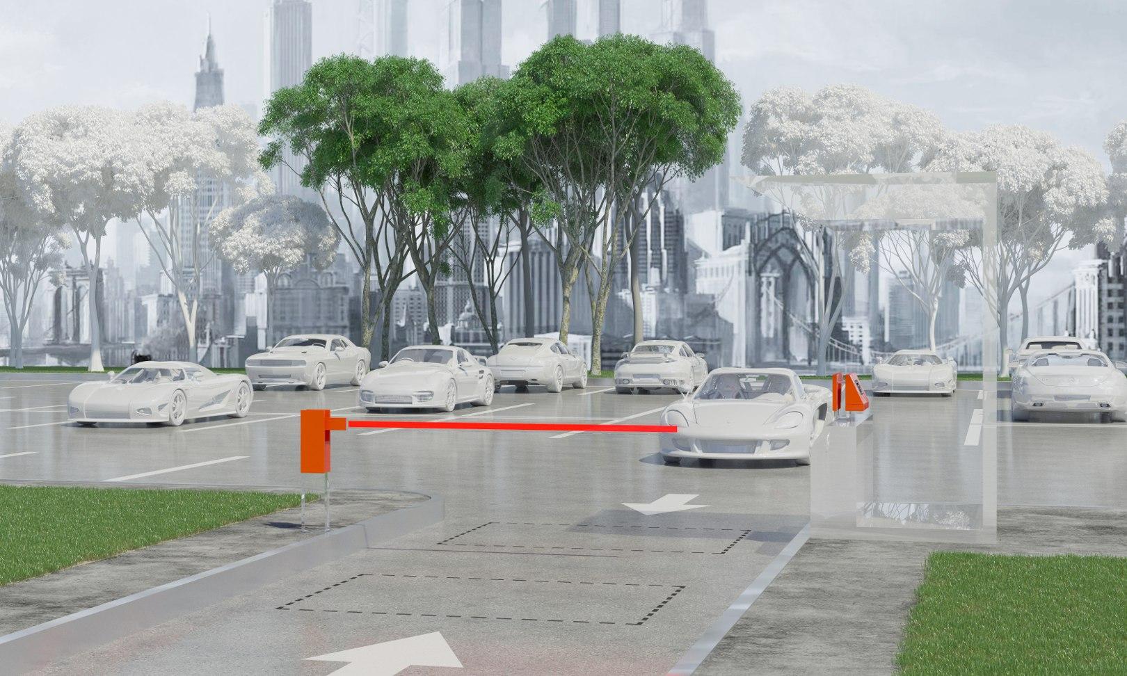 Автоматизация автостоянки с реверсивным въездом-выездом