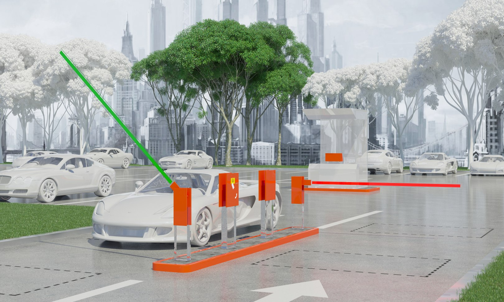 Автоматизированная система платной парковки